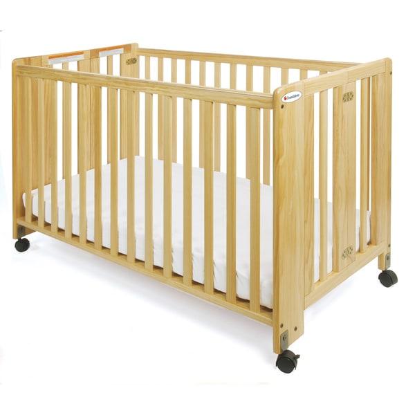 Shop Foundations Hideaway Full Size Folding Crib Free