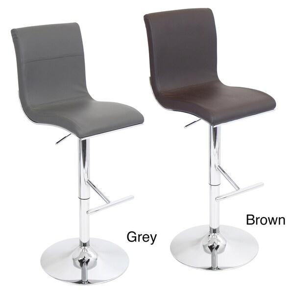 Spago Modern Adjustable Barstool