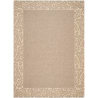 Safavieh Courtyard Brown/ Natural Indoor/ Outdoor Rug - 9' x 12'