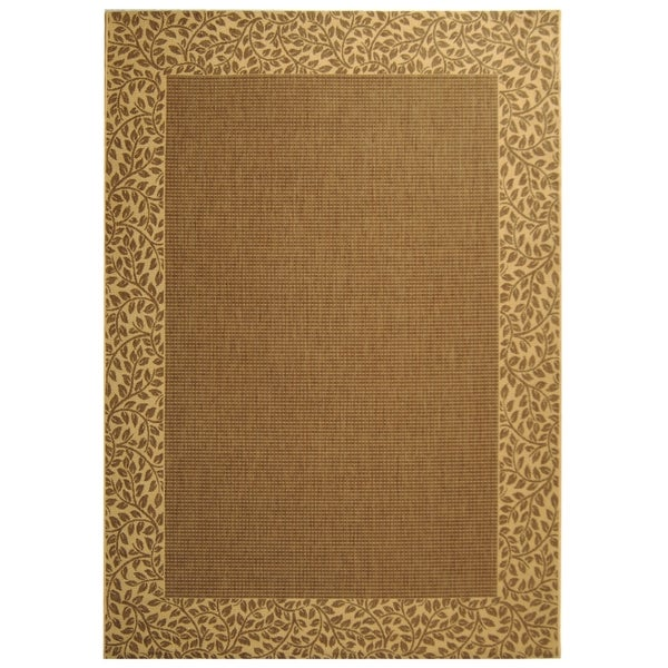 Shop Safavieh Courtyard Brown/ Natural Indoor/ Outdoor Rug ... - photo#36