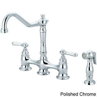 Buy Bridge Kitchen Faucets Online At Overstockcom Our Best - Bridge faucets for kitchen