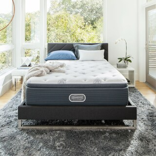 Beautyrest Silver Maddyn Luxury Firm Pillow Top California King-size Mattress Set (2 options available)
