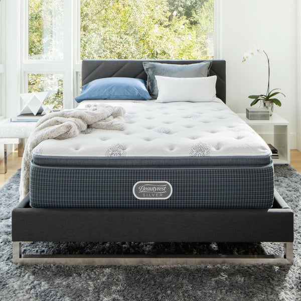 Beautyrest Silver Maddyn Luxury Firm Pillow Top California