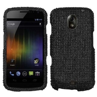 INSTEN Black Diamante Protector Phone Case Cover for Samsung I515 Galaxy Nexus