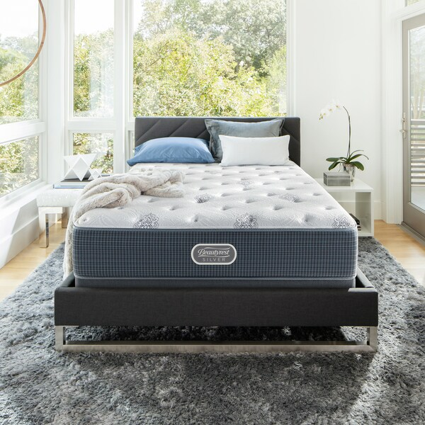 Beautyrest Silver Maddyn Plush Full-size Mattress Set