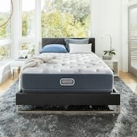 Simmons Beautyrest Silver Maddyn Plush Full-size Mattress Set