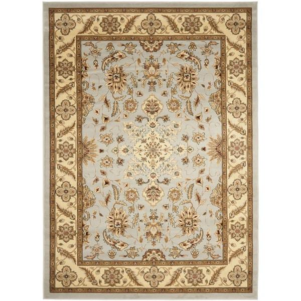 Safavieh Lyndhurst Traditional Oriental Grey/ Beige Rug - 8' x 11'