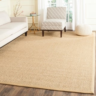 Safavieh Casual Natural Fiber Chocolate Sisal Sea Grass Rug (2' x 3')