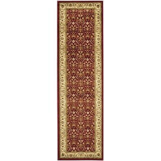 Safavieh Lyndhurst Traditional Oriental Burgundy/ Ivory Rug (2'3 x 20')