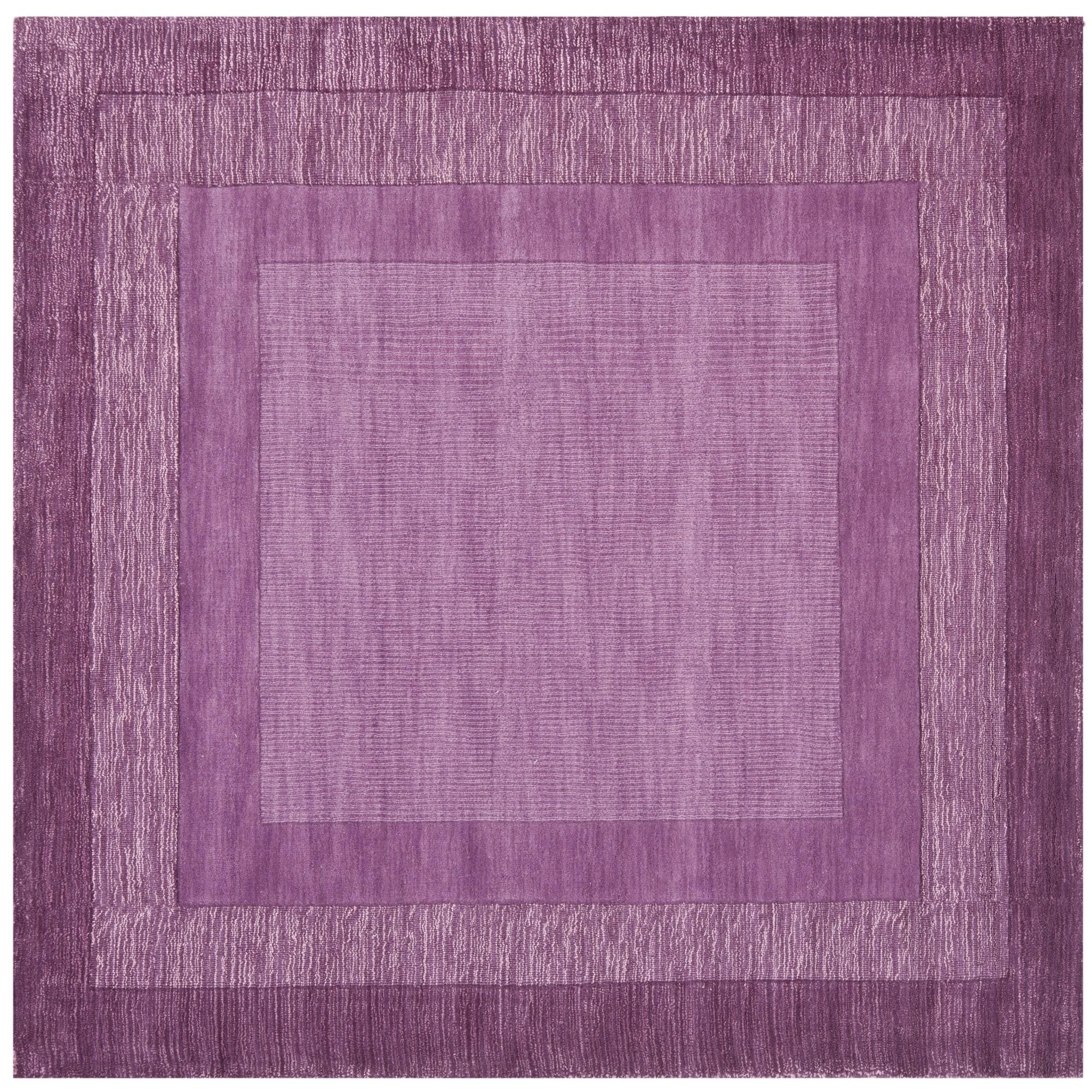Safavieh Handmade Impressions Modern Purple New Zealand W...