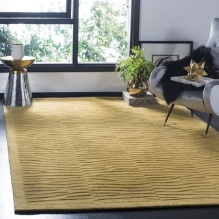Safavieh Hand-made Impressions Multi Wool Rug (9' x 12')