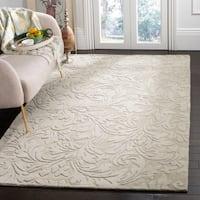 Safavieh Hand-made Impressions Sage Wool Rug - 8'3 x 11'