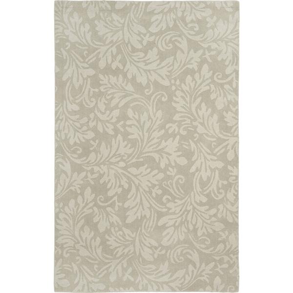 Safavieh Hand-made Impressions Sage Wool Rug (8'3 x 11')