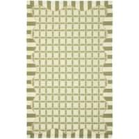Safavieh Handmade Chelsea Green Wool Rug - 8'9 X 11'9