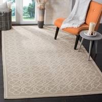 Safavieh Handmade Chelsea Tan/ Ivory Wool Rug - 3'9 x 5'9