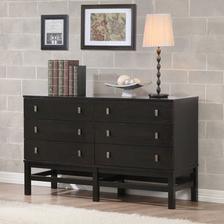 Henry 6-drawer Sicilian Black Dresser
