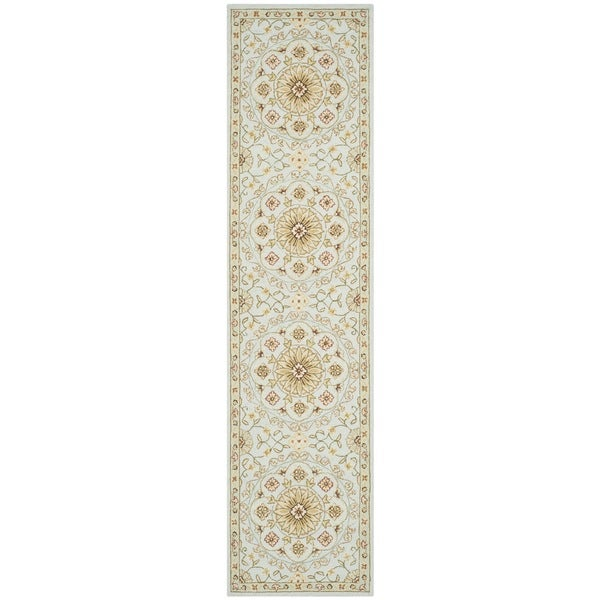 Safavieh Hand Made Chelsea Teal Green Wool Rug 2 6 X 6