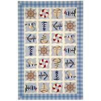 Safavieh Handmade Chelsea Ivory Wool Rug - 7'9 x 9'9