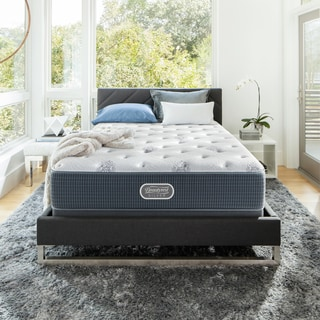 Beautyrest Silver Maddyn Plush California King-size Mattress Set