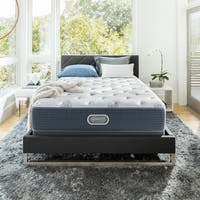 Beautyrest Silver Maddyn Plush California King-size Mattress Set + Bonus Sleep Tracker