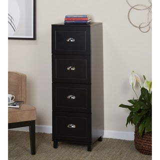 Simple Living Bradley 4-drawer Filing Cabinet