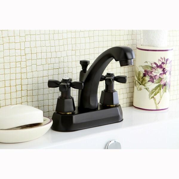 Homestead Oil Rubbed Bronze 4-inch Centerset Bathroom Faucet