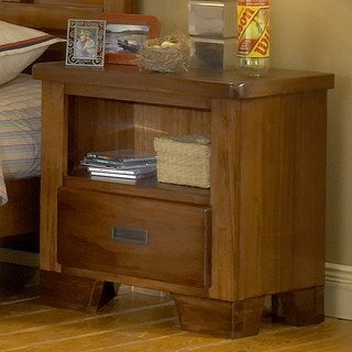 Greyson Living Hardy Brown Finish Night Stand