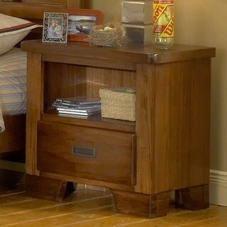 Hardy Brown Finish Night Stand by Greyson Living