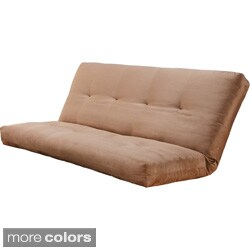 Somette Suedette Full-size Solid Futon Cover