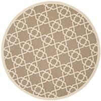 Shop Safavieh Indoor Outdoor Courtyard Crisscross Pattern
