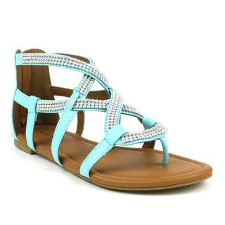 Mark & Maddux Women's 'Paul-07' Flat Sandals