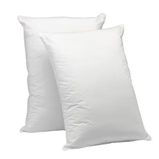 Aller-Ease Cotton Corded Jumbo-sized Pillow (Set of 2)