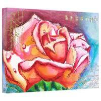 Susi Franco 'Breathe' Gallery-Wrapped Canvas - Multi