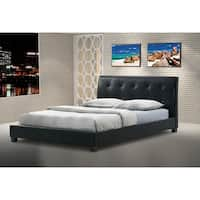 Porch & Den Victoria Park 6th Street Faux Leather Platform Bed