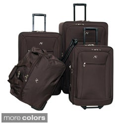 American Flyer Brooklyn Collection 4-piece Luggage Set