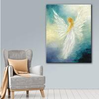 Marina Petro 'Angel' Gallery-Wrapped Canvas