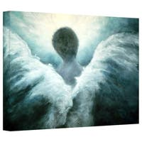 Marina Petro 'Ascending Angel' Gallery-Wrapped Canvas