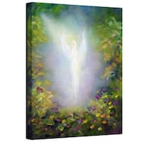 Marina Petro 'Healing Angel 1' Gallery-Wrapped Canvas