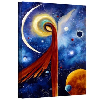 Marina Petro 'Lunar Angel' Gallery-Wrapped Canvas