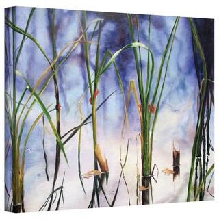 Marina Petro 'Mystic Pond' Gallery-Wrapped Canvas