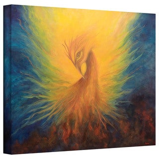 Marina Petro 'Firebird' Gallery-Wrapped Canvas