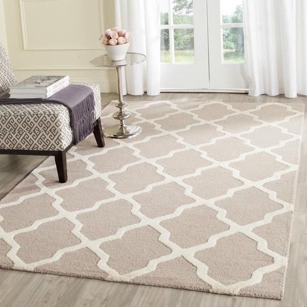 Shop Safavieh Handmade Moroccan Cambridge Beige Ivory