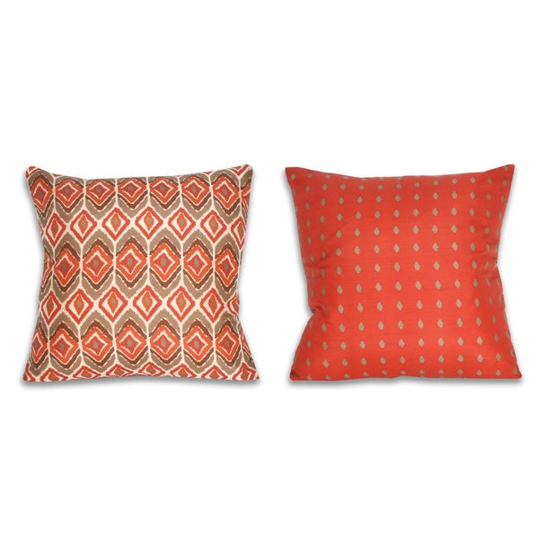 Chrissy Printed Reversible Decorative Throw Pillow (20 x 20)