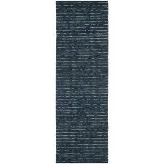 Safavieh Hand Knotted Bohemian Dark Blue Wool Rug 2 6 X