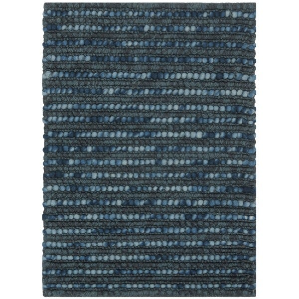 Shop Safavieh Hand Knotted Bohemian Dark Blue Wool Rug 2