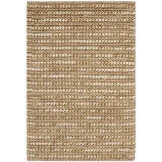 Safavieh Hand-knotted Bohemian Beige Wool Rug - 2'6' x 4'