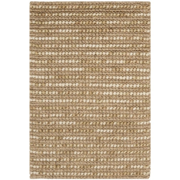 Shop Safavieh Hand Knotted Bohemian Beige Wool Rug 2 6