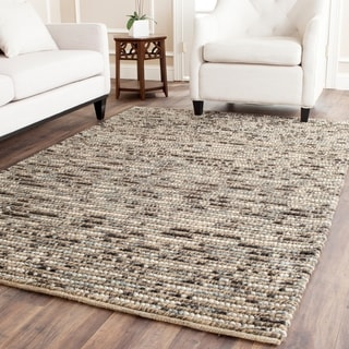 Safavieh Hand-knotted Bohemian Blue Wool Rug (9' x 12')