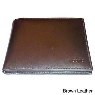 Kozmic Solid Leather Bi-Fold Wallet