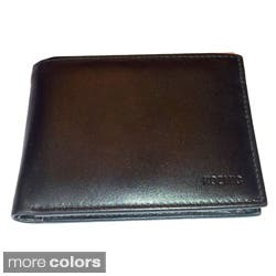 Kozmic Solid Leather Bi-Fold Wallet|https://ak1.ostkcdn.com/images/products/8060293/Kozmic-Solid-Leather-Bi-Fold-Wallet-P15416826.jpg?impolicy=medium